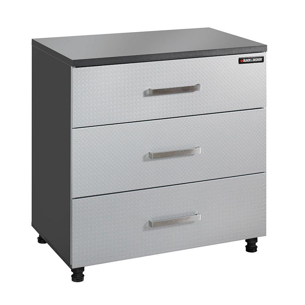 BLACK+DECKER Black & Decker 3 Drawer Base Cabinet