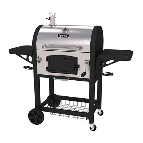 Dyna-Glo Heavy-Duty Stainless Charcoal BBQ