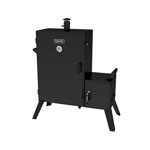 36-inch Wide Body Vertical Offset Charcoal Smoker