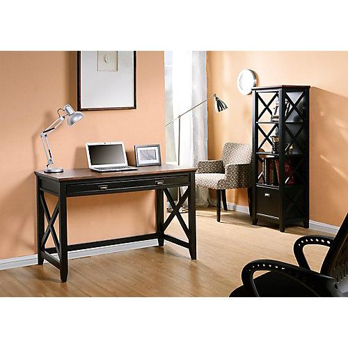 47.24-inch x 30-inch x 23.19-inch Standard Workstation in Brown