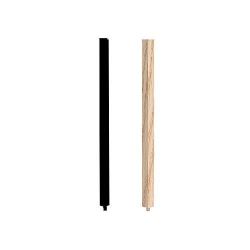 1 1/4-inch x 1 1/4-inch x 40-inch Oak Square Baluster