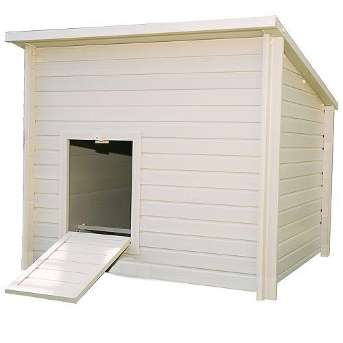 Ecoflex Jumbo Fontana 12-Hen Chicken Barn