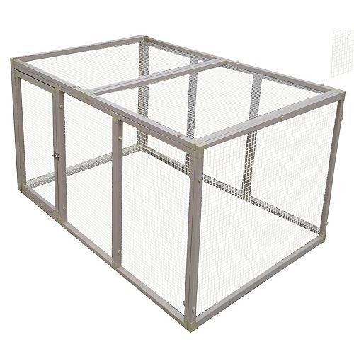 Enclos à poules Fontana, très grand, matériau ECOFLEX®