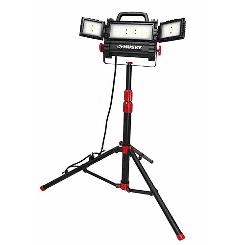 3200-Lumens Multi-Directional LED Tripod Work Light