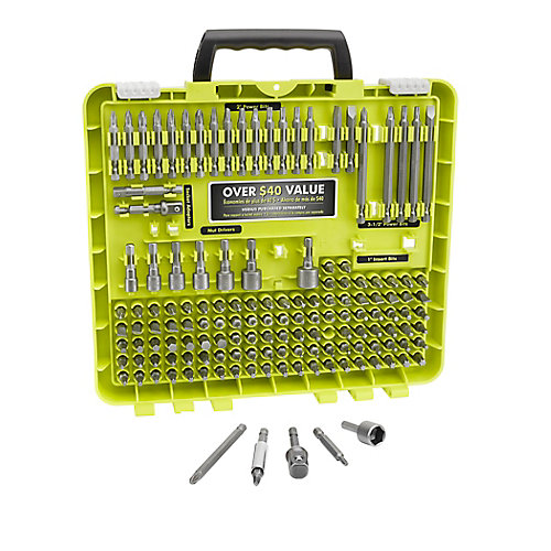Drill and Drive Bit Set (145-Piece)