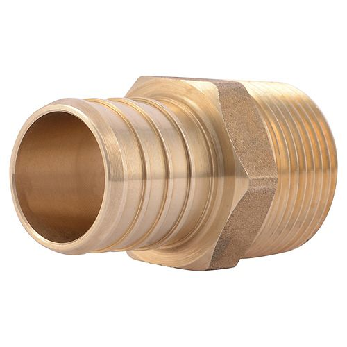 1 inch PEX x 3/4 inch Male Reducing Adapter