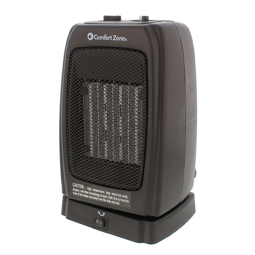 Comfort Zone Oscillating Heater/Fan Ceramic Heater