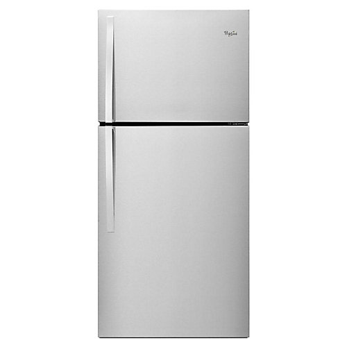30-inch W 19.2 cu.ft. Top Freezer Refrigerator in Stainless Steel