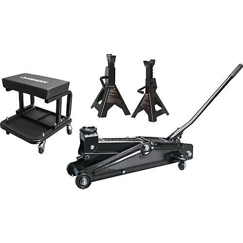 3 Ton Trolley Jack With Stands And Seat