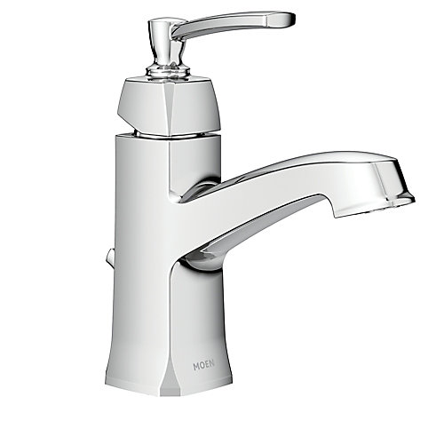 Conway Single Handle Bathroom Faucet in Chrome Finish