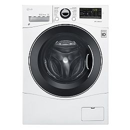 24-inch W 2.6 cu. ft. Compact All-in-One Front Load Washer & Dryer Combo in White