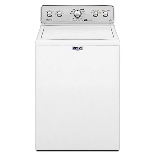 4.9 cu. ft. Top Load Washer with Deep Water Wash in White