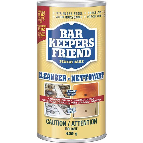 Bar Keepers Friend 440mL All Purpose Cleanser and Polish
