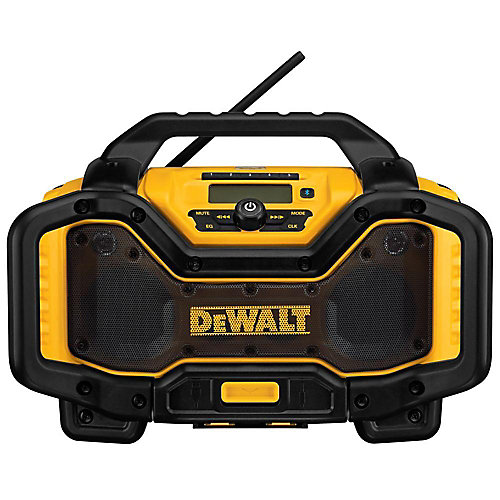 20V MAX or FLEXVOLT 60V MAX Lithium-Ion Battery Charger and Bluetooth Radio