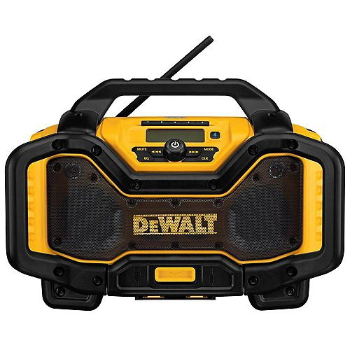 20V MAX or FLEXVOLT 60V MAX Lithium-Ion Bluetooth Radio with built-in Charger