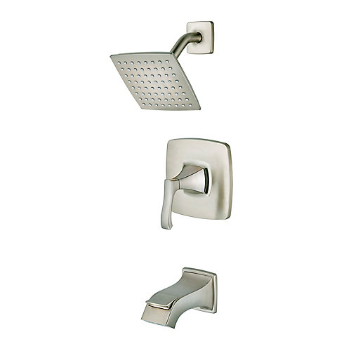Venturi Tub & Shower Faucet in Brushed Nickel