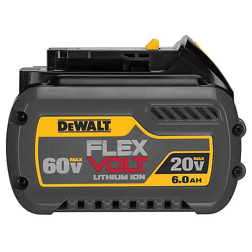 FLEXVOLT 20V/60V MAX Lithium-Ion 6.0 Ah Battery Pack