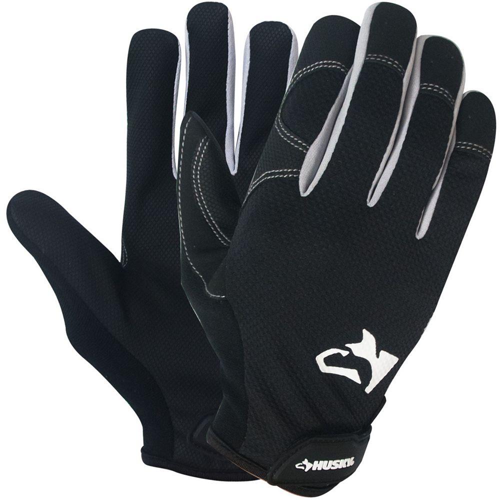 Husky SB HKY New Light Duty Work Glove XL (3-Pack)