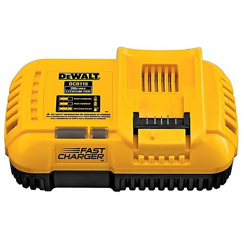 FLEXVOLT 20V MAX Lithium-Ion Fan Cooled Fast Battery Charger