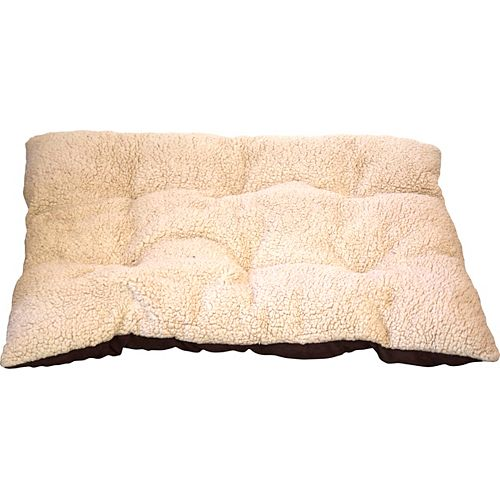 "Danazoo 73962 Fleece & Faux Suede Bed 24"" x 30"" Beige"