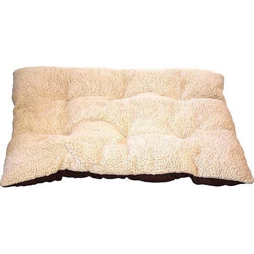 Michel 24 X 30 Knife Edge Fleece And Faux Suede Pet Pillow