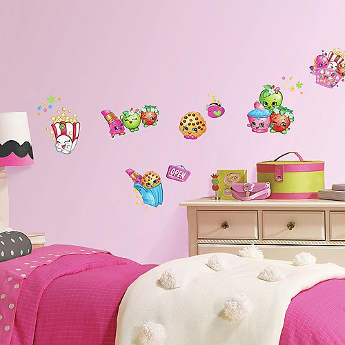 RoomMates Stickers Muraux SHOPKINS DECALS