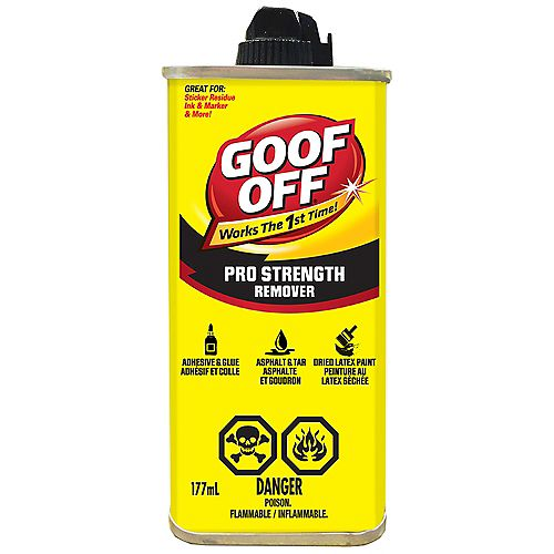 Goof Off Pro Strength Remover 177ml (6oz)