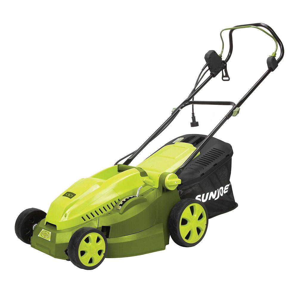 Sun Joe Mow Joe 16-inch 12 amp Electric Lawn Mower + Mulcher
