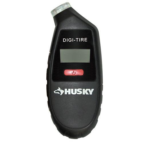 Husky 4-inch Digital Tire with Gauge