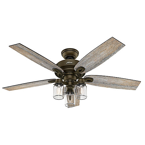 Crown Canyon 52-inch Indoor Regal Bronze Ceiling Fan