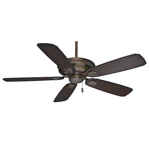 Casablanca Heritage 60-inch Aged Bronze Outdoor/Indoor Ceiling Fan
