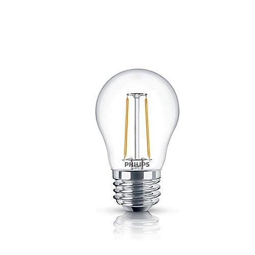 25W Equivalent Clear (2200K) A15 Filament LED Light Bulb