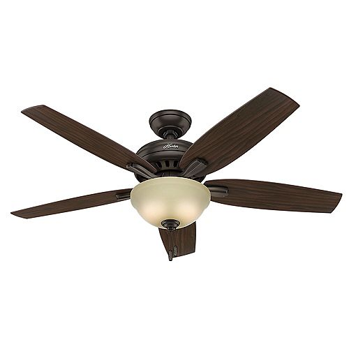 Newsome 52-inch Premier Ceiling Fan in Bronze