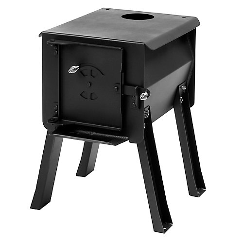 CUB - Portable Camp / Cook Wood Stove, 1.0 Cu. Ft.