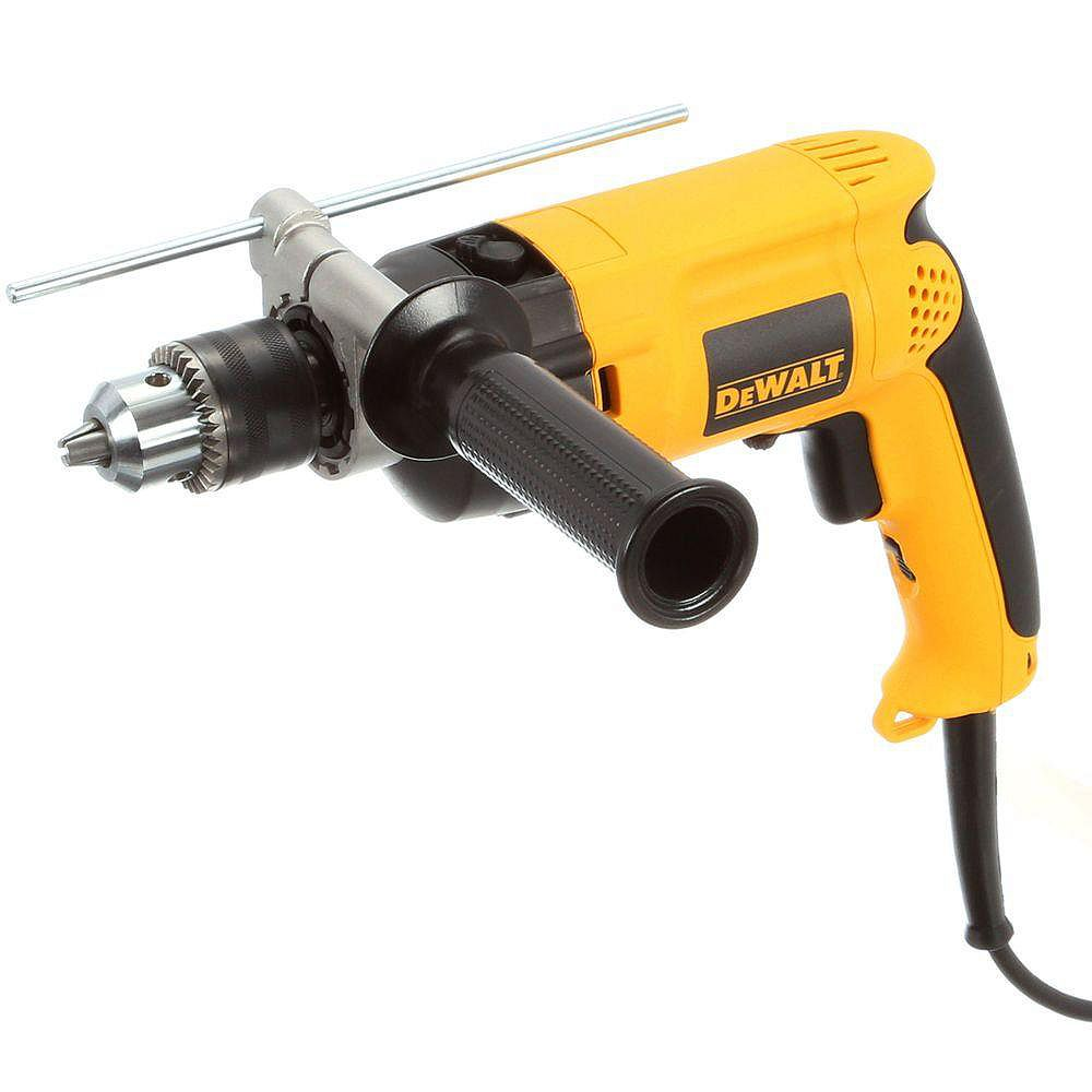 DEWALT 7.8 Amp Corded 1/2-inch Variable Speed Reversible Hammer Drill