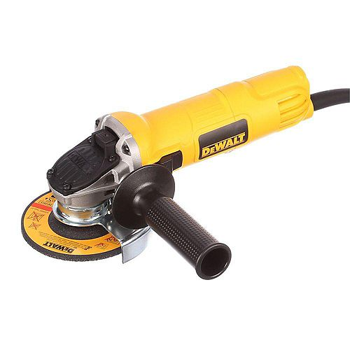 7 amp 4 1/2-inch Small Angle Grinder With One-Touch Guard