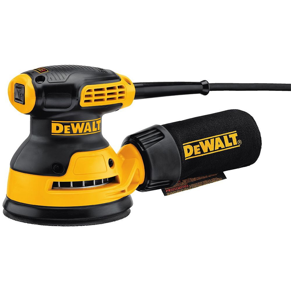 DEWALT 3 amp 5-inch Corded Single Speed Random Orbital Sander