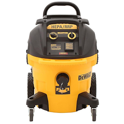 DWV012 10 Gallon Wet/Dry HEPA Dust Extractor With Automatic Filter Cleaning