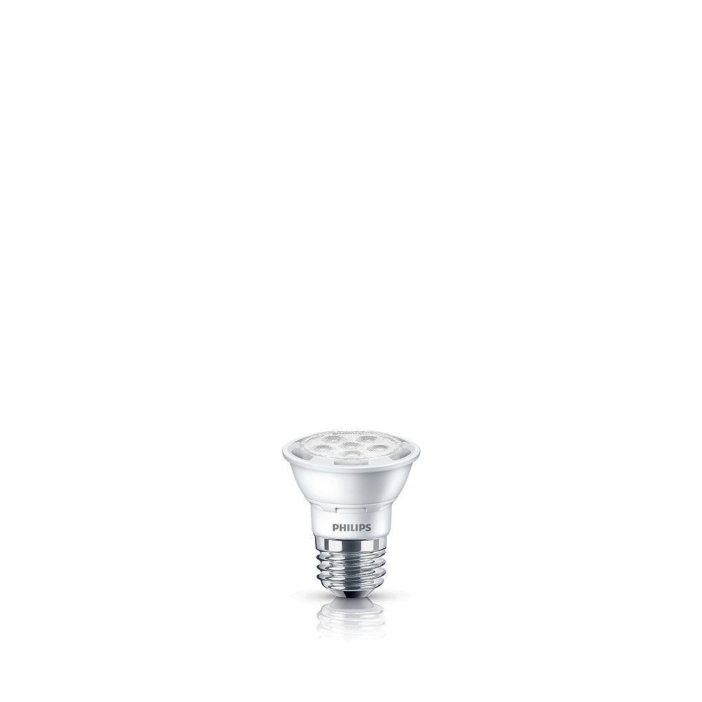 Philips PAR16 DEL faisceau large dintérieur 50 W. Lumière du jour -(5 000 K), Gradable