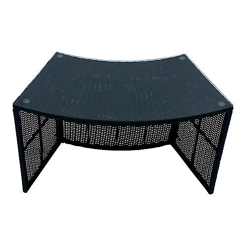 Spa Surround Round Bar Table