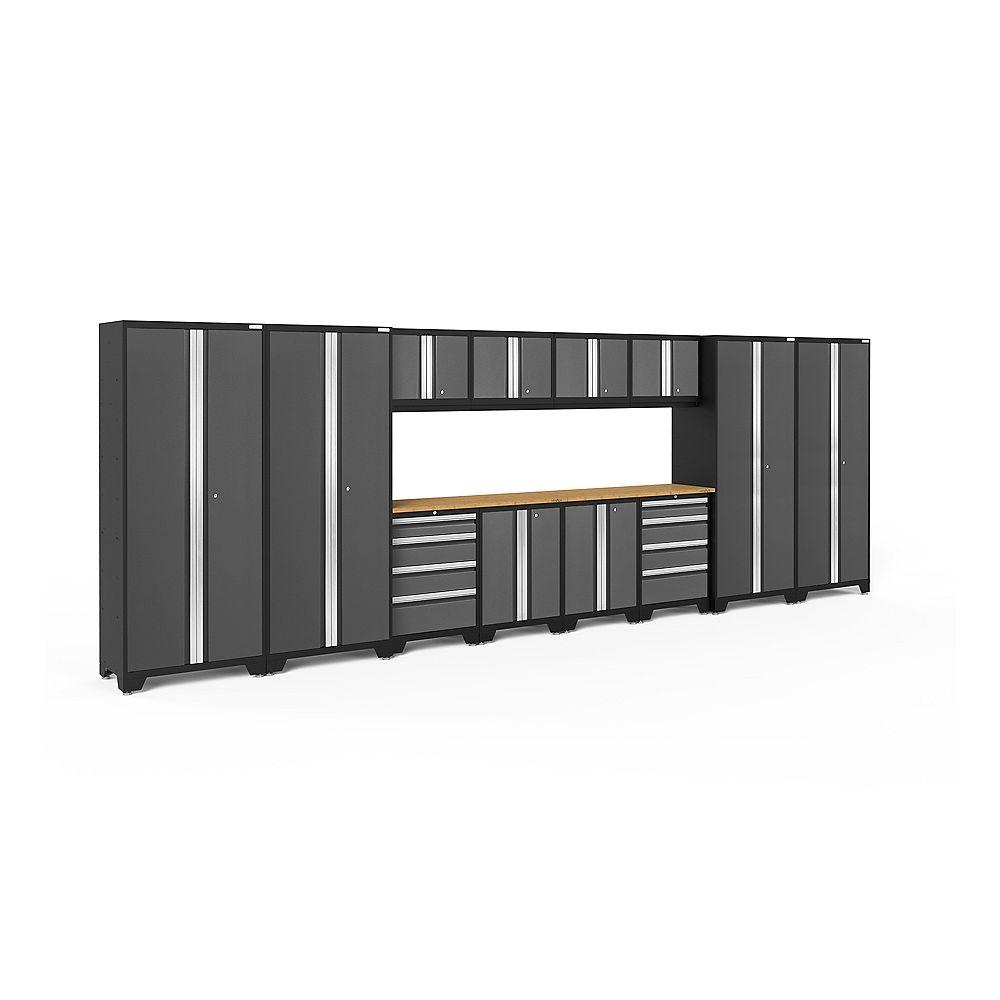NewAge Products Inc. Ensemble de 14 éléments Bold de NewAge Products (2x LWT, 2x LWB, 2x 48 po BAM) - Gris