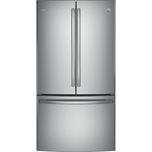 "36"""" 23.1 cu. ft. French Door Refrigerator in Stainless Steel - ENERGY STAR®"