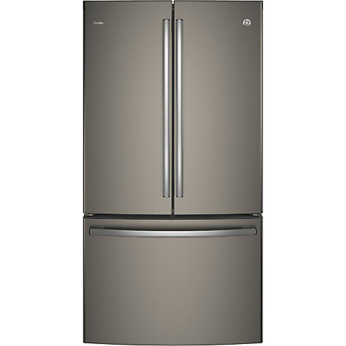 36-inch W 23.1 cu. ft. French Door Refrigerator in Slate - ENERGY STAR®