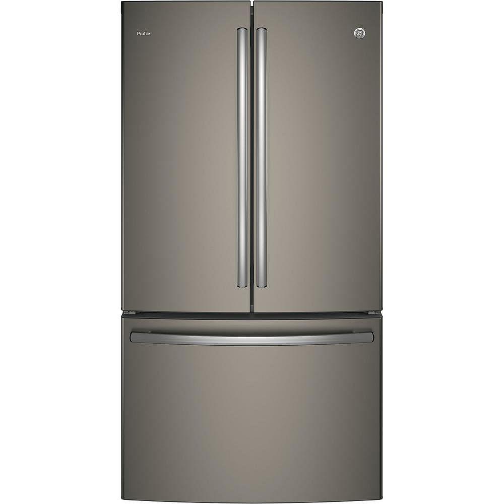GE 36-inch W 23.1 cu. ft. French Door Refrigerator in Slate - ENERGY STAR®