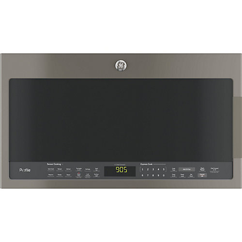 "30"" 2.1 cu. ft. Over the Range Microwave in Slate with Sensor Cooking"