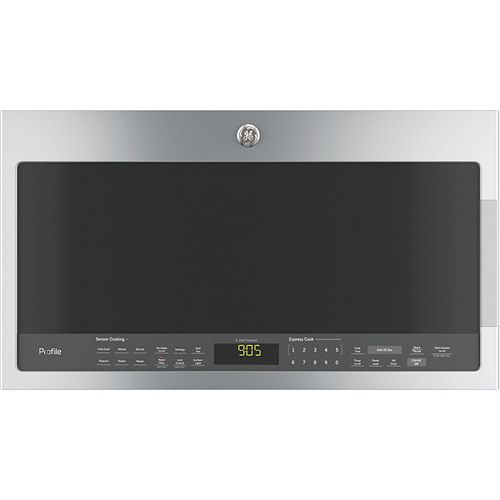 30-inch 2.1 cu. ft. Over the Range Microwave in Stainless Steel with Sensor Cooking