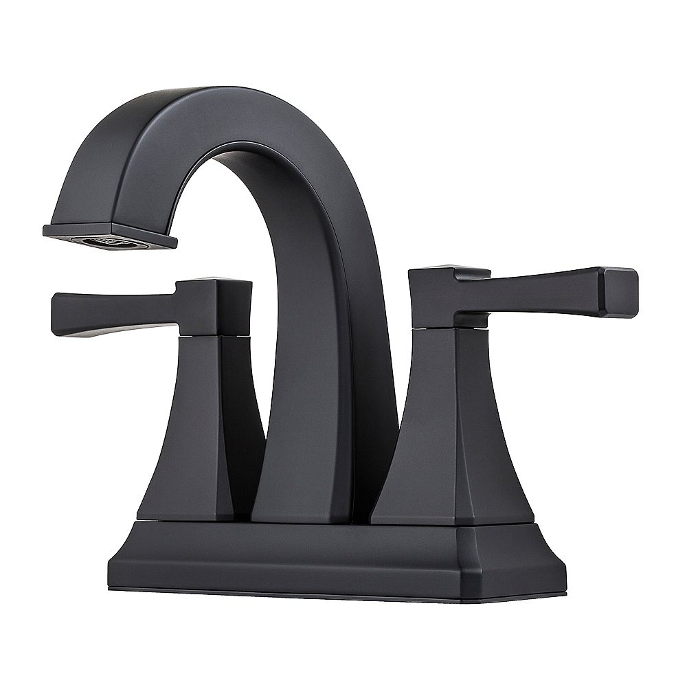 Pfister Halifax Centerset 4-inch 2-Handle Mid Arc Bathroom Faucet with Lever Handles