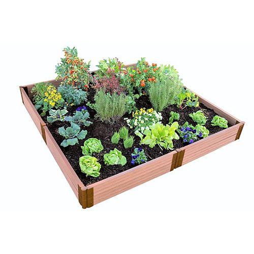 Lit de jardin surélevé Classic Sienna sans outils, profil de 8  pix 8 pi x 11  po- 2 po
