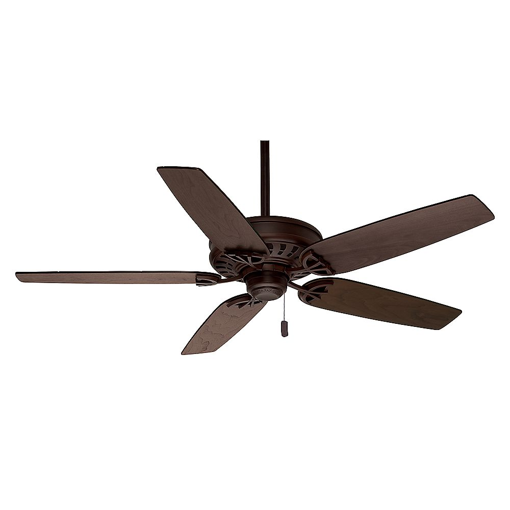 Casablanca Concentra 54-inch Brushed Cocoa Indoor Ceiling Fan