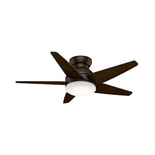 Isotope - 52 Inch Brushed Cocoa - 4 speed wall control
